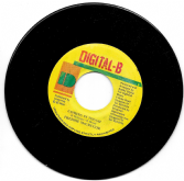 SALE ITEM - Freddie McGregor - Coming In Tough / version (Digital-B) JA 7""